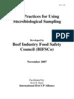 BestPracticesForUsingMicrobiologicalSampling-November2007
