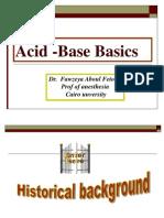 Acid -Base Basics