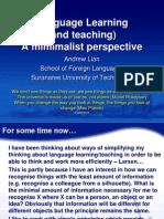 SUT Grad Seminar Keynote APL 2012
