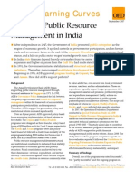 ADB and Public Resource Management in India