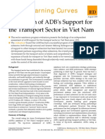 ADB' Support for the Transport Sector in Viet Nam