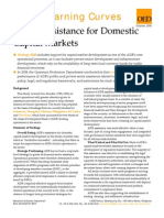 ADB's Assistance for Domestic Capital Markets