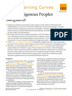 ADB's Indigenous Peoples Safeguards