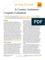 Bangladesh - Country Assistance Program Evaluation