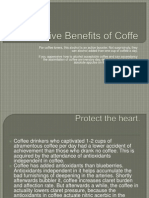 Five Benefits of Coffe