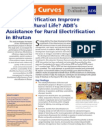 Does Electrification Improve the Quality of Rural Life