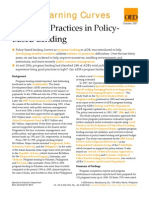 Emerging Practices in Policy-Based Lending