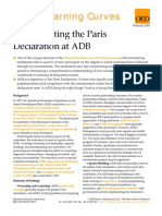 Implementing Paris Declaration at ADB