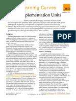 Project Implementation Units
