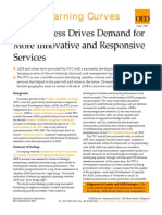 Success Drives Demand for More Innovative and Responsive Services