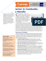 Transport Sector in Cambodia - Focusing on Results