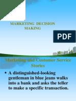 Marketing Decision Making 2009 Ppt @ Bec Doms Bagalkot Mba