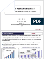 KT's Strategies for the Era of Mobile Data Explosion