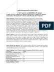 Applied Management Research Project Version 3