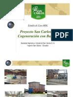 Generacion Con Bagazo Proyecto San Carlos