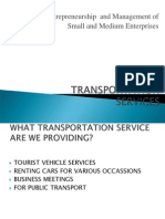 Transportation Services 2003
