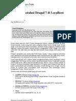 Panduan Instalasi Drupal 7 Di Localhost