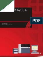 Shimadzu Protein Sequencer PPSQ 31A 33A