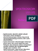 Spektroskopi UV-Vis