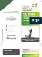 Formación para Desempleados. Curso. Sistema Operativo y Búsqueda de Información. Obra Social. CAM