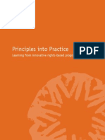 2005 CARE RBA Principles Into Practice