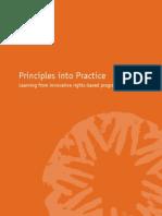 2005 CARE RBA Principles Into Practice