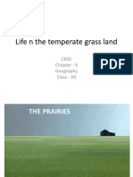 Life n the Temperate Grass Land