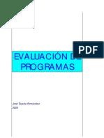 Evaluacixn Programas de Formacixn
