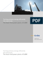 The Fossil-fired Power Plants of EnBW