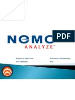 Overview of Nemo Analyze