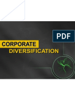 Corporate Diversification 15 Nov'10 Rev.
