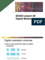 EE303Sp09 L20 Digital Modulation 2