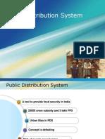 Public Distribution System