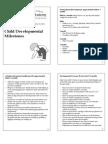 Supp Material Child Development Milestones