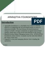 Aparajitha Foundations