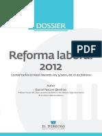 Dossier Reforma Laboral