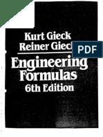 Engineering Formulas