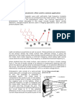 Photoelectric Effect Essay