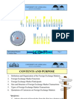 Unit_4- Foreign Exchange Market