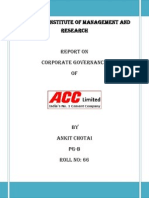 ACC - Corporate Governance