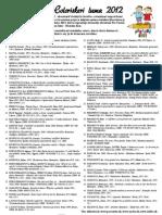 Farebný svet - Coloriskeri luma 2012 - zoznam odporúčanej literatúry