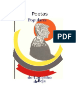Poetas Populares Do Concelho de Beja 1987 - 1 a 128 - Quintos