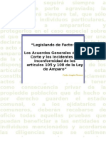 Acuerdos Generales de La Corte o Legislando de Facto. Aragon-Navarro