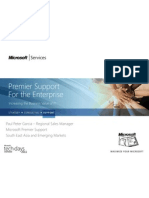 Microsoft Premier Support Increasing the Business Value of IT