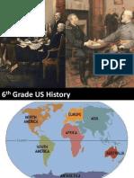 6th Grade US History 2008 SOLs