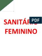 Sanitário Feminino