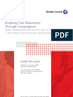 Enabling Cost Reductions Through Convergence