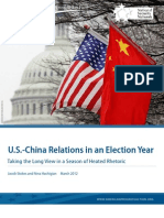 U.S.-China Relations in an Election Year