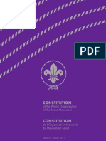 The Constitution of the World Organization of the Scout Movement