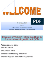 Field Diagnosis of Rabies by ICT